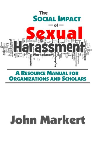 9780982659748: The Social Impact of Sexual Harasssment: A Resource Manual for Organizations and Scholars