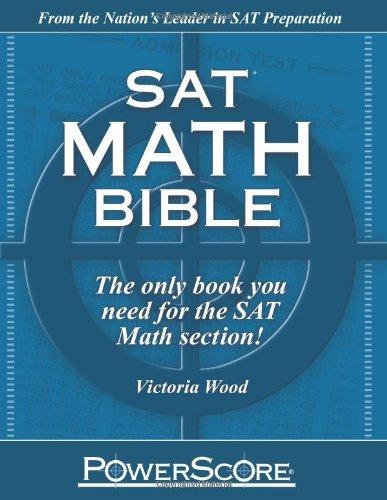 9780982661819: SAT Math Bible
