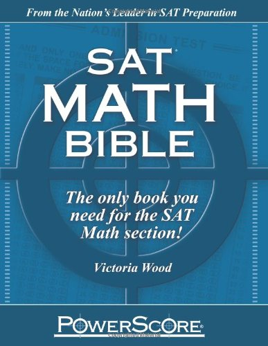 SAT Math Bible (0982661819) by Victoria Wood