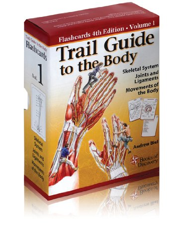 Trail Guide to the Body Flashcards Vol: Biel, Andrew