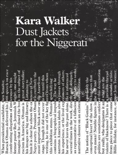 9780982681367: Kara Walker: Dust Jackets for the Niggerati
