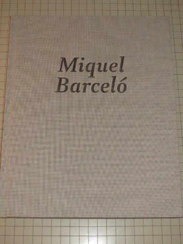 9780982688649: Miquel Barcelo
