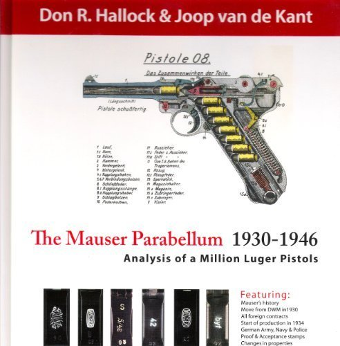 9780982690307: The Mauser Parabellum 1930-1946, Analysis of a Million Luger Pistols