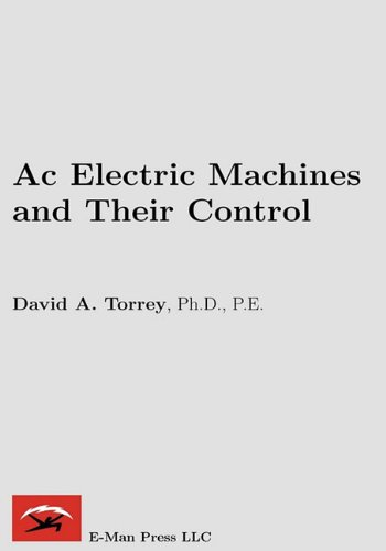 9780982692608: AC Electric Machines and Their Control