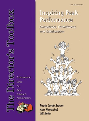 9780982708224: Inspiring Peak Performance Competence, Commitment, and Collaboration