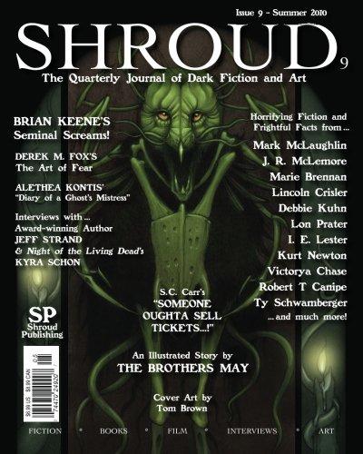9780982727539: Shroud 9: The Quarterly Journal of Dark Fiction and Art