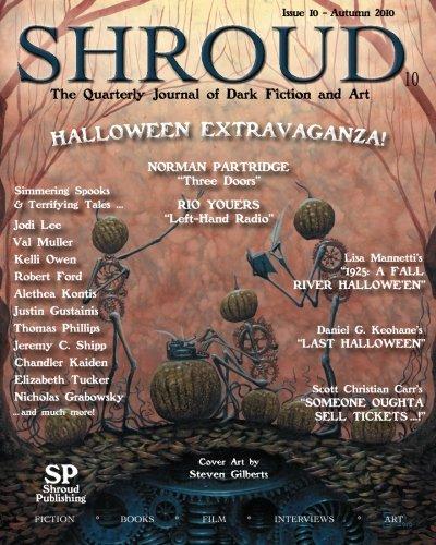9780982727560: Shroud 10: The Quarterly Journal of Dark Fiction and Art