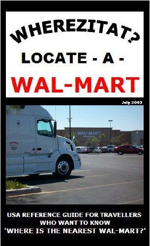 9780982733608: Wherezitat? Locate-A-Wal-Mart