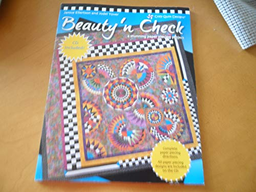 9780982741528: Beauty 'n Check: A Stunning Paper Piecing Project (CD Included)