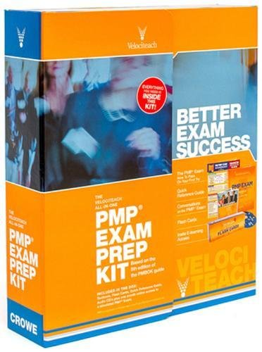 9780982760864: The Velociteach All-in-One PMP Exam Prep Kit: Based on the 5th Edition of the PMBOK Guide