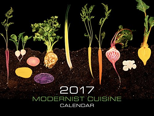 Modernist Cuisine 2017 Wall Calendar: Nathan Myhrvold