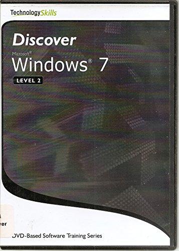 9780982783412: Discover Microsoft Windows 7, Level 2, (DVD)