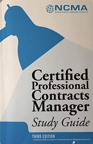 9780982838501: Certified Federal Contracts Manager, Study Guide