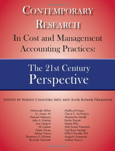 9780982843420: Contemporary Research in Cost and Management Accounting Practices: The 21st Century Perspective