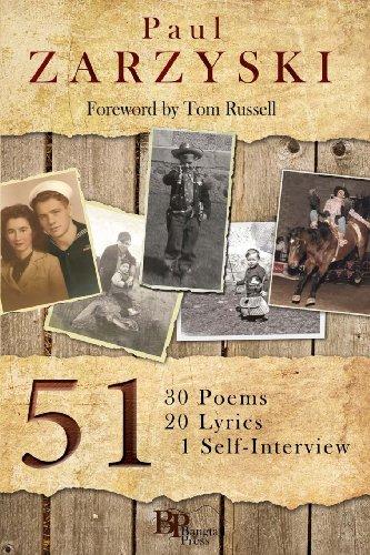 9780982860113: 51: 30 Poems, 20 Lyrics, 1 Self-Interview