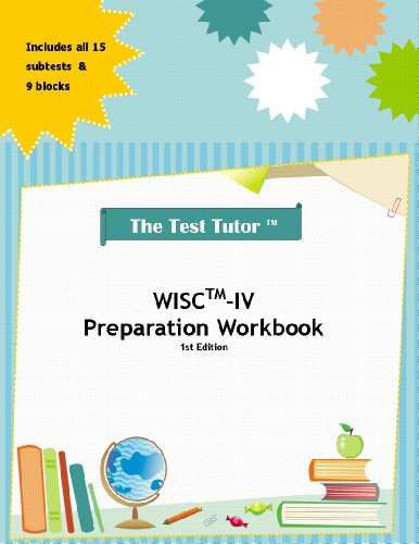 9780982870822: The Test Tutor: WISC-IV Preparation Kit