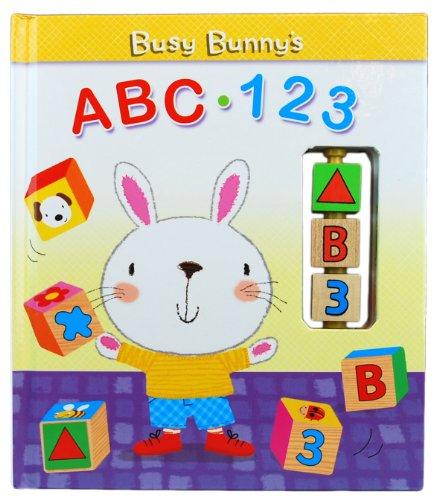 9780982882818: Busy Bunny's ABC - 123