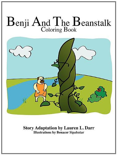 9780982913208: Benji and The Beanstalk Coloring Book