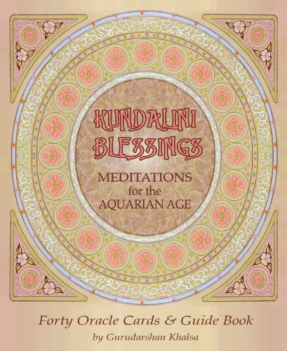 9780982958803: Kundalini Blessings: Meditations for the Aquarian Age Oracle Cards
