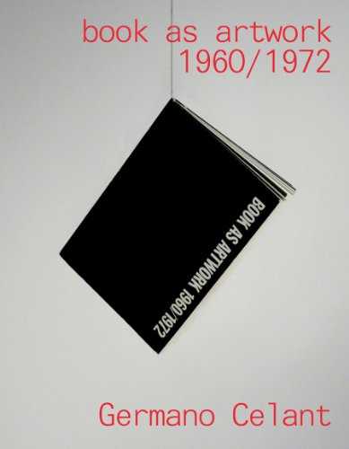 9780982969403: Book as Artwork 1960-1972