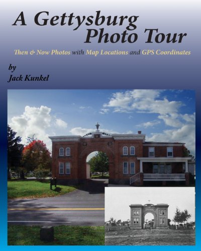 9780982970546: A Gettysburg Photo Tour: Then & Now Photos with Map Locations and GPS Coordinates
