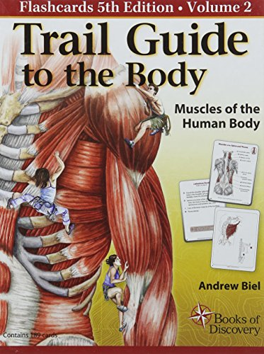 9780982978689: Trail Guide to the Body Flashcards: Muscles of the Human Body: 2