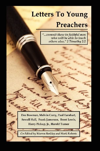 9780982981139: LETTERS TO YOUNG PREACHERS