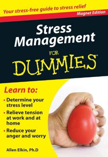 9780983010760: Stress Management for Dummies: Your Stress-Free Guide to Stress Relief (Refrigerator Magnet Books for Dummies)