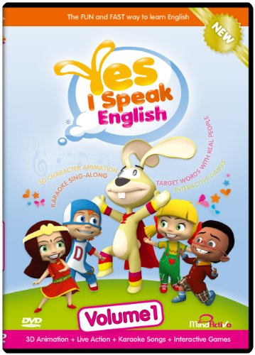 9780983034728: Yes I Speak English Volume 1 - DVD - NTSC