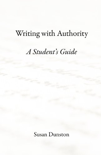 9780983039426: Writing with Authority: A Student's Guide