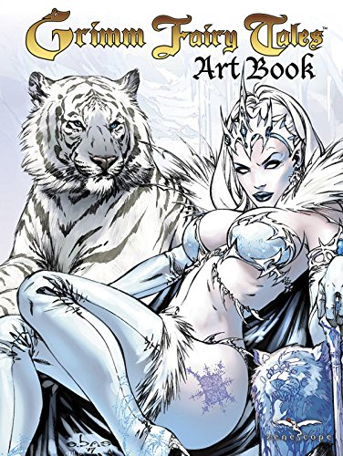 9780983040415: Grimm Fairy Tales Cover Art Book