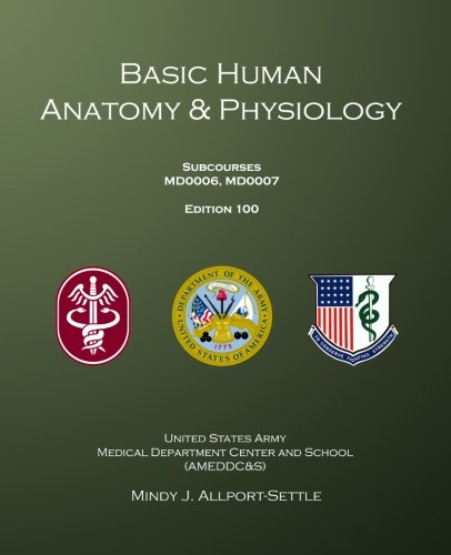 9780983071969: Basic Human Anatomy & Physiology: Subcourses MD0006, MD0007; Edition 100