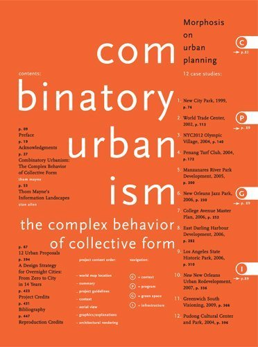 9780983076308: Combinatory Urbanism A Realignment of Complex Behavior and Collective Form