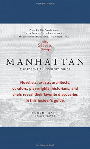 9780983079545: City Secrets Manhattan: The Essential Insider's Guide