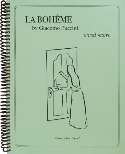 9780983091738: La Boheme Vocal Score