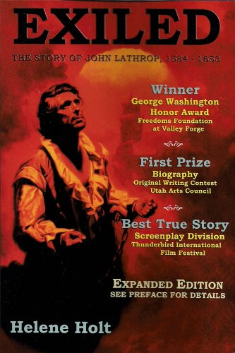 9780983105800: Exiled: The Story of John Lathrop (4th edition)