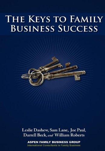 The Keys To Family Business Success: Leslie Dashew; Joe