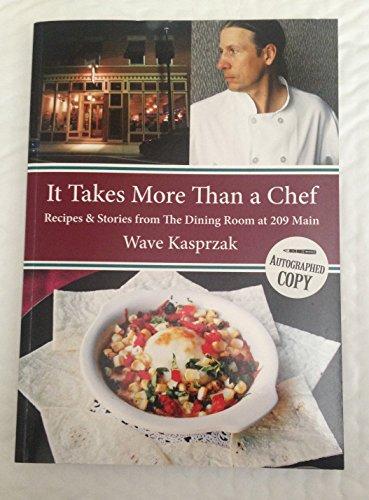 It Takes More Than a Chef : Wave Kasprzak