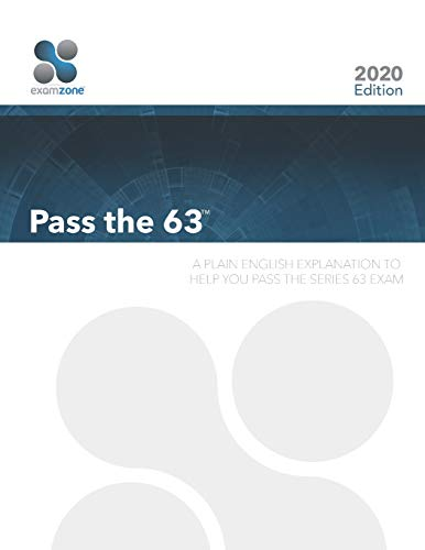 9780983141198: Pass The 63: A Plain English Explanation to Help You Pass the Series 63 Exam