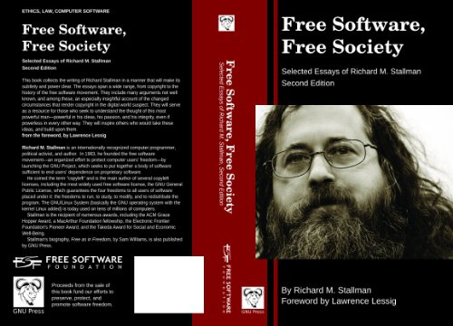 9780983159209: Free Software, Free Society: Selected Essays of Richard M. Stallman