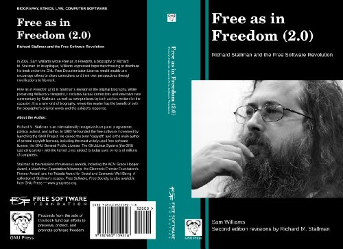 collected essays of richard stallman Free books  computers & internet  programming  web programming  cybercopyrights  free software, free society: selected essays of richard m stallman.