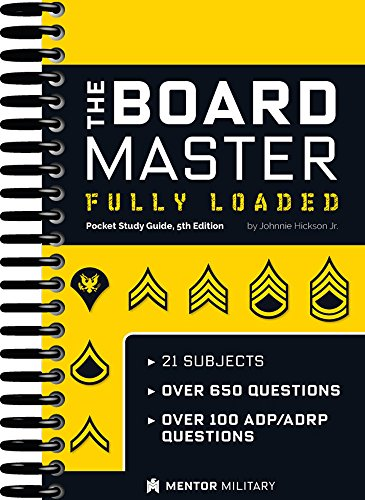 9780983174592 the board master army board pocket study guide rh abebooks com Army Board Study Guide Printable portable u s army board study guide version 5.3 pdf