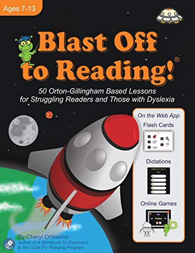 9780983199632: Blast Off to Reading! Rev. C, Ages 7-13: 50 Orton-Gillingham Based Lessons for Struggling Readers and Those With Dyslexia