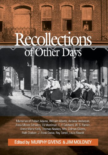 9780983256540: Recollections of Other Days