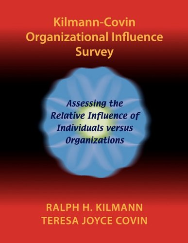 9780983274278: Kilmann-Covin Organizational Influence Survey