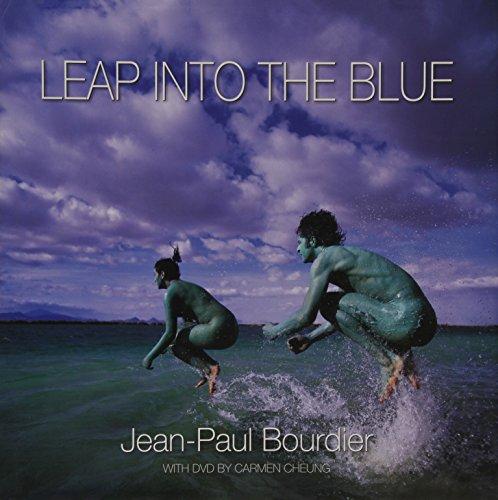 Leap Into The Blue (includes DVD, inscription, and separate original sketch): Bourdier, Jean-Paul