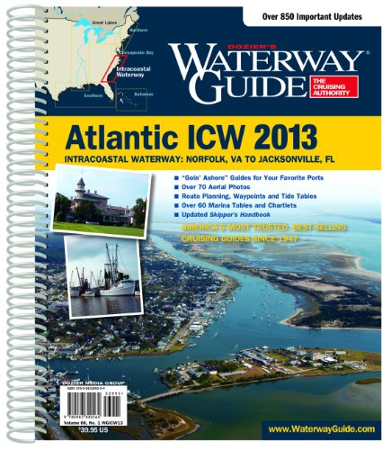 9780983300564: Dozier's Waterway Guide Atlantic ICW 2013 (Waterway Guide. Intracoastal Waterway Edition)