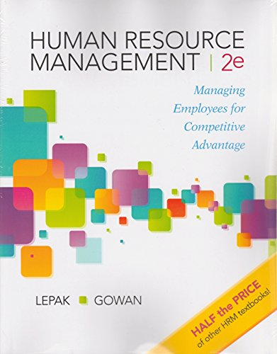Human Resource Management: Managing Employees for Competitive