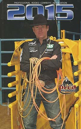 9780983414841: 2015 Professional Rodeo Cowboys Association Media Guide