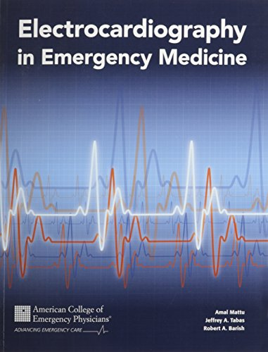 9780983428817: Electrocardiography in Emergency Medicine